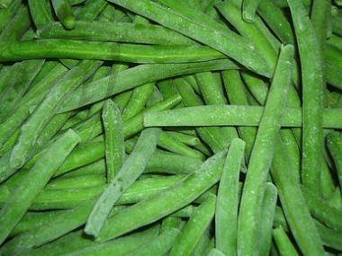 Smažené zelené fazolky na orientální způsob