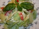 Bramborový salát tří barev recept