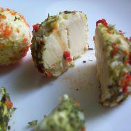 Sýrové kuličky v bylinkách recept