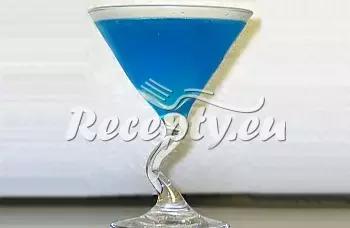 Blue ocean recept  míchané nápoje