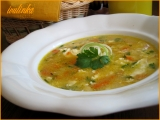 Mrkvová polévka s krupičkou  recept ze školky