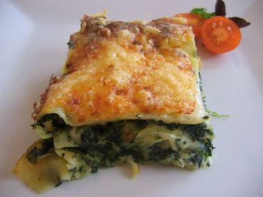 Recept Sýrovo-špenátový koláč s kuřecím masem