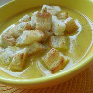 Dýňová polévka se zakysanou smetanou recept
