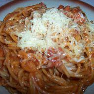 Špagety s orientální omáčkou recept