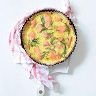 Lososový koláč recept