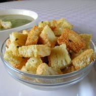Domácí česnekové krutony recept