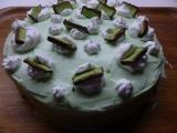 Pistáciový rychlý dort recept