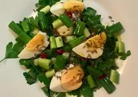 Turecký vajíčkový salát recept