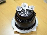 Dort k 20. narozeninám recept