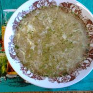 Chlebová polévka s vejcem recept