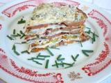 Palačinkový dort s rajčaty recept