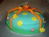 Můj první marcipánový dort recept