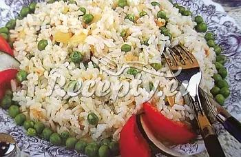 Rýže s paprikami a hráškem recept  rýžové pokrmy