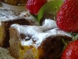 Kávový perník s rumem a ovocem recept