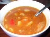 Gulášovo fazolová polévka recept