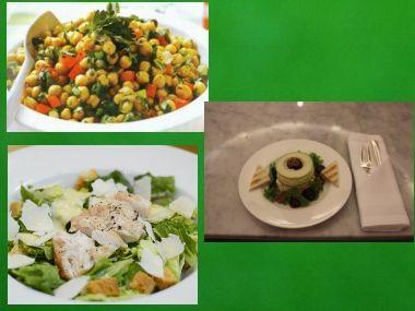 Saláty 1  rychlovky do 20ti minut