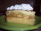 Opilý jablkový dort recept