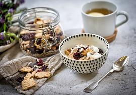 Snídaňová granola recept