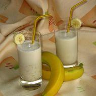 Banánový shake recept