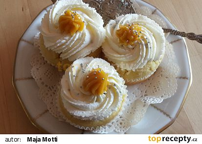 Cupcake s lemon curd recept