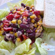 Kukuřičný salát s tuňákem recept