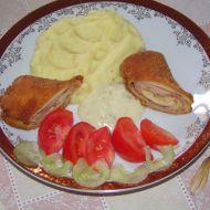 Palačinky plněné šunkou a sýrem recept