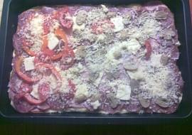 Domácí pizza na plech recept