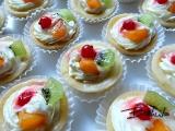 Vykrajované ovocné košíčky recept