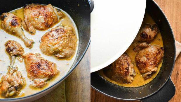 Hořčičné kuře