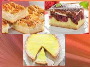 Tři ovocné koláče