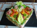 Slaný dort  pro Pepíka recept