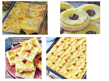 Ananasové koláčky