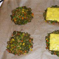 Zeleninové placky se špenátem a sójovým masem recept