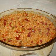 Vepřové rizoto s hráškem a kukuřicí recept