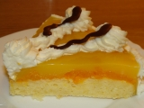 Mandarinkový dortík recept