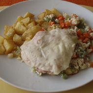 Zapečené kuřecí maso na zelenině recept