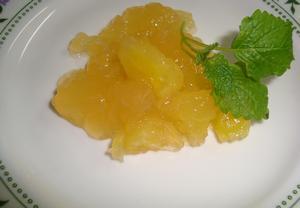 Želé z jablek a ananasu