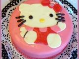 Dort Hello Kitty pro neteřinku recept