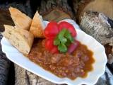 Nudličky na ratatouille a červeném víně recept
