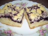 Borůvkový koláč I. recept