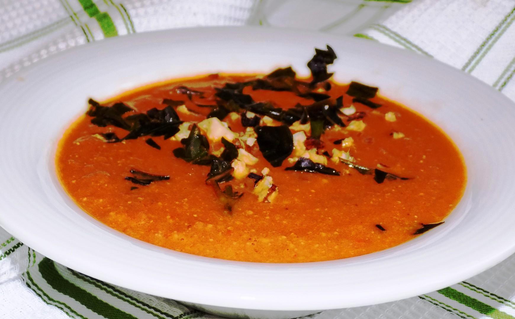 Rychlá paprikovo-rajčatová polévka recept