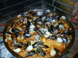 Paella mixte recept