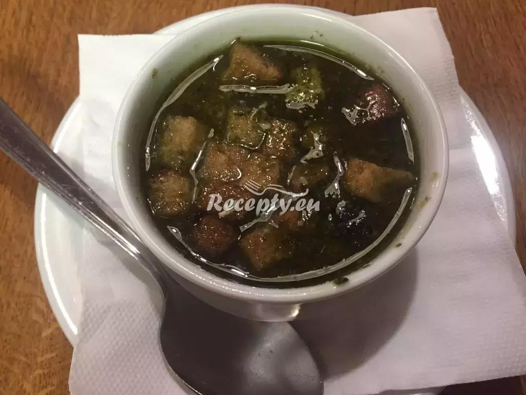 Poctivá česnečka recept  polévky