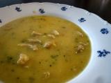 Krémová polévka z kuřecího masa recept