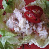 Lahůdkový kuřecí salát recept