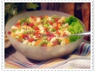 Těstovinový salát s chřestem