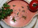 Studená rajčatová polévka recept