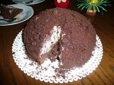 Krtkův dort od kámošky