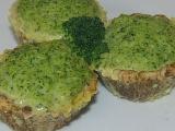 Zábavná dieta Krůtí košíčky s brokolicovou nádivkou recept ...