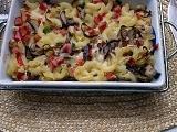 Zapečené těstoviny se salámem recept
